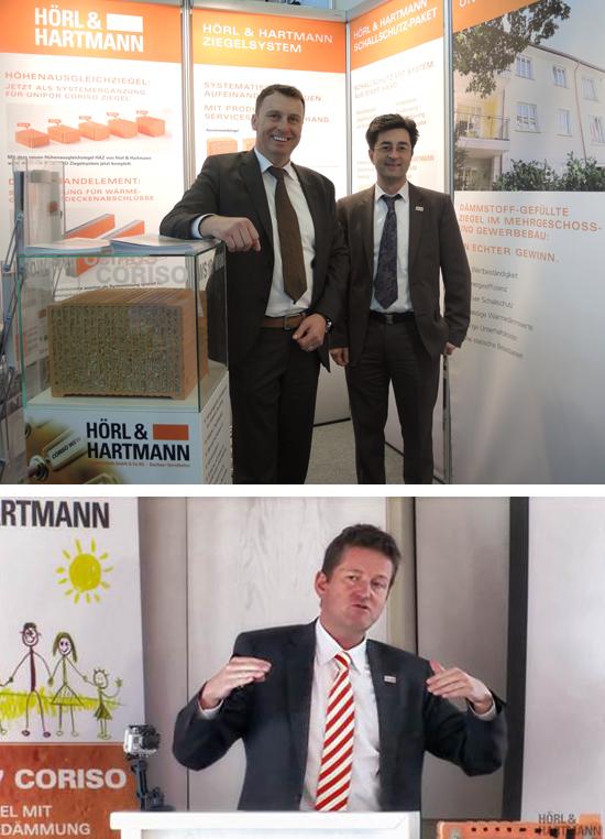 Bild oben, von links nach rechts: Hans Keller und Thomas Dörflinger Bild unten: Claus Dillinger