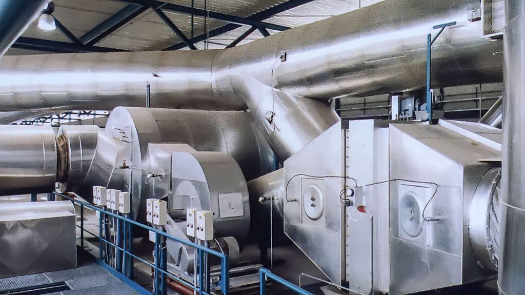 13. Schwelgas - Entsorgungsanlage