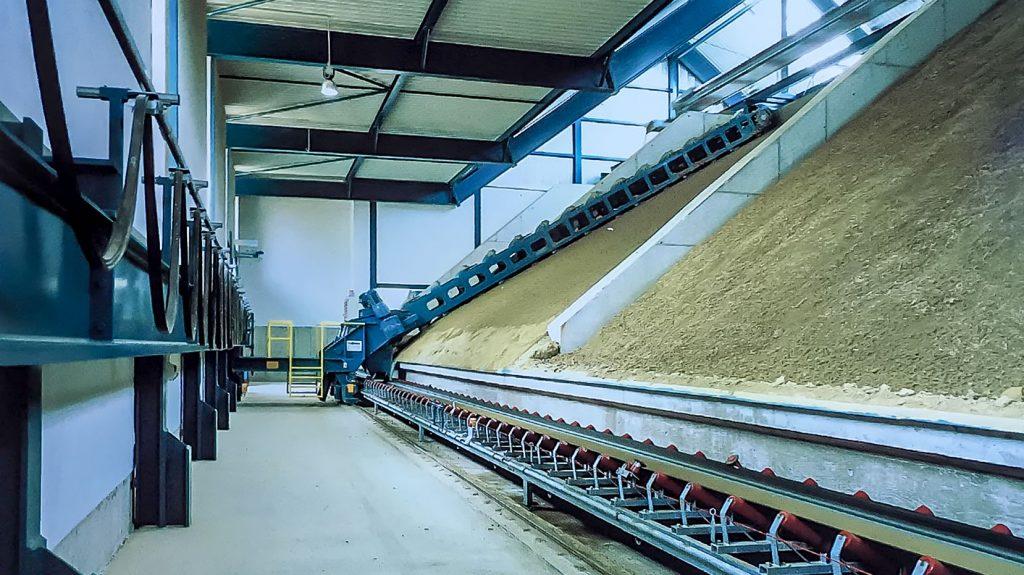 04. Sumpfanlage - Tonlagerung zur Materialdurchfeuchtung