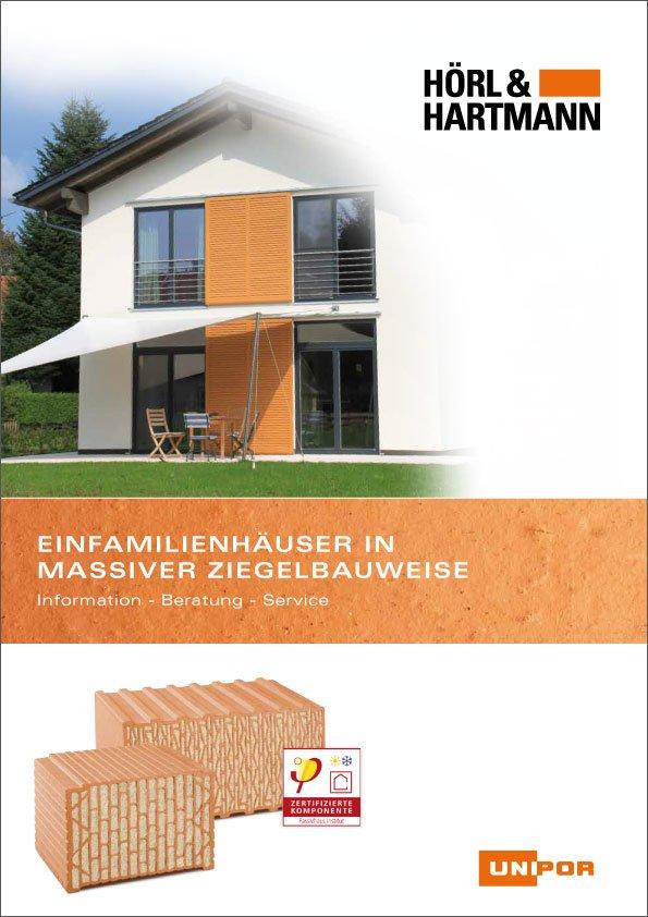 Hörl & Hartmann Broschüre Einfamilienhaus