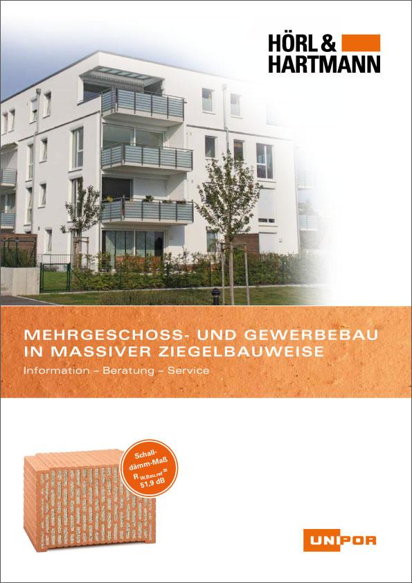Hörl & Hartmann Broschüre Mehrgeschoss- und Gewerbebau
