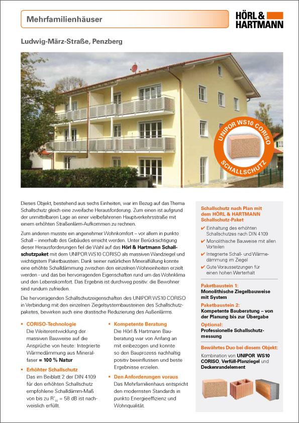 Hörl & Hartmann Objektbericht Ludwig-März-Straße