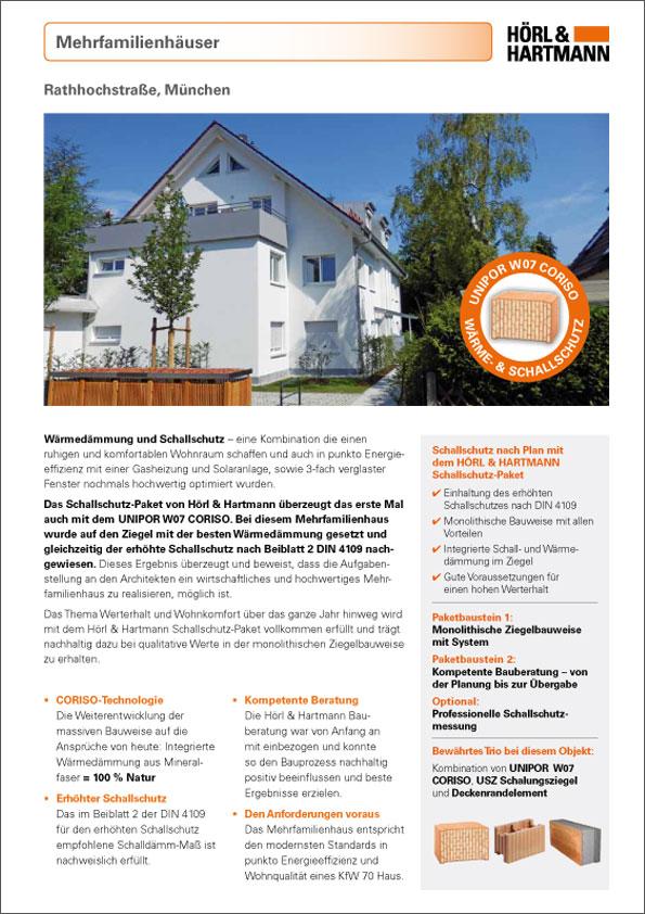 Hörl & Hartmann Objektbericht Rathhochstraße