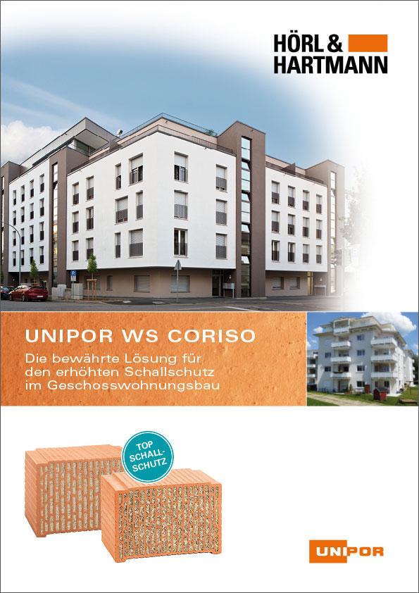Hörl & Hartmann UNIPOR WS CORISO Broschüre