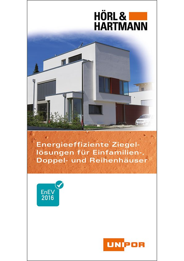 Hoerl und Hartmann Download Ziegelsysteme Einfamilienhaus