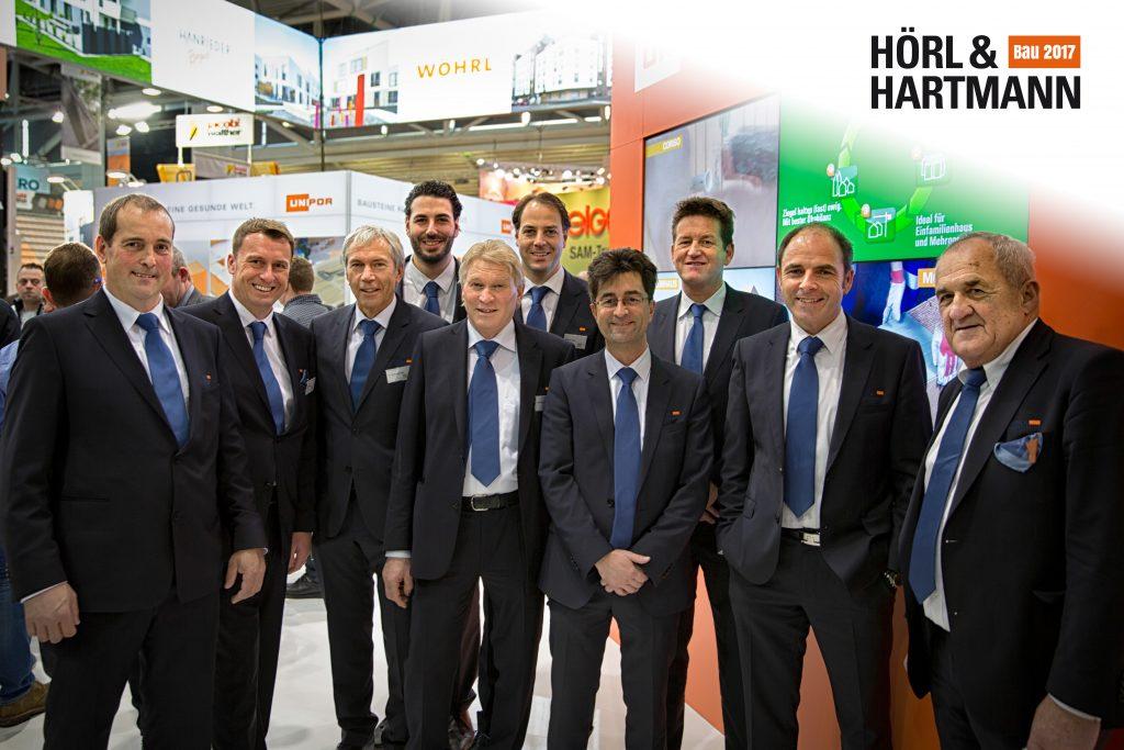 Beratungsteam von Hoerl & Hartmann auf der Bau 2017