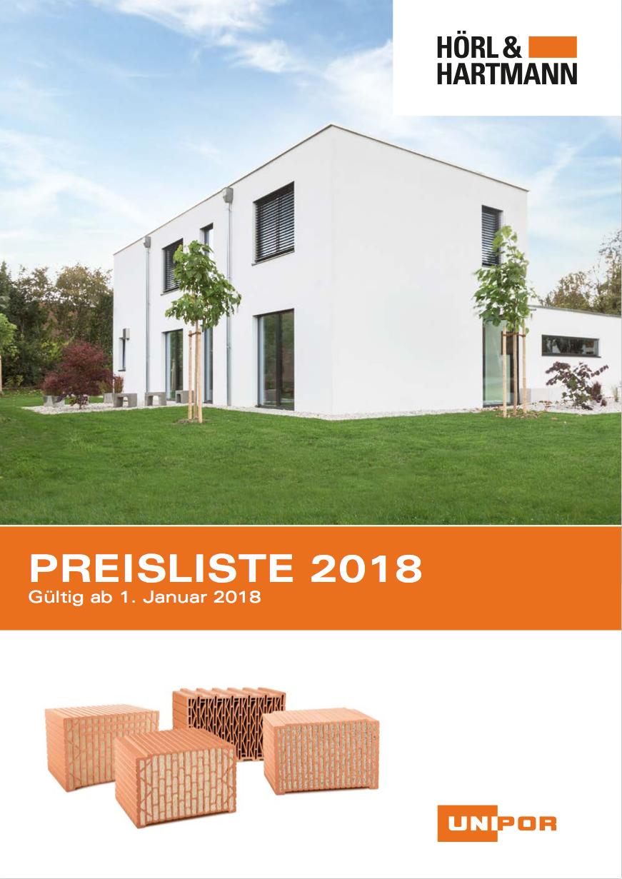 Hoerl und Hartmann Download Preisliste 2017