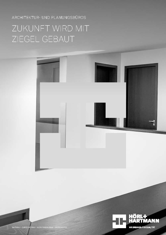 Hörl+Hartmann Architektenbroschüre