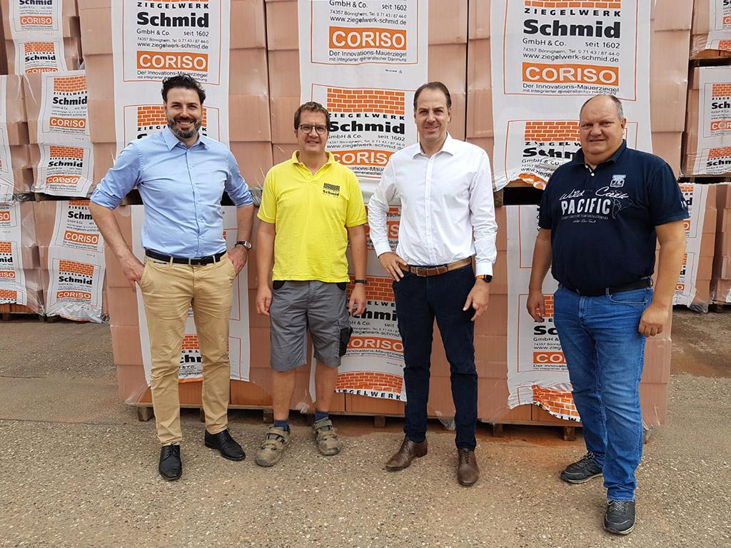 Hörl+Hartmann übernimmt Ziegelwerk Schmid