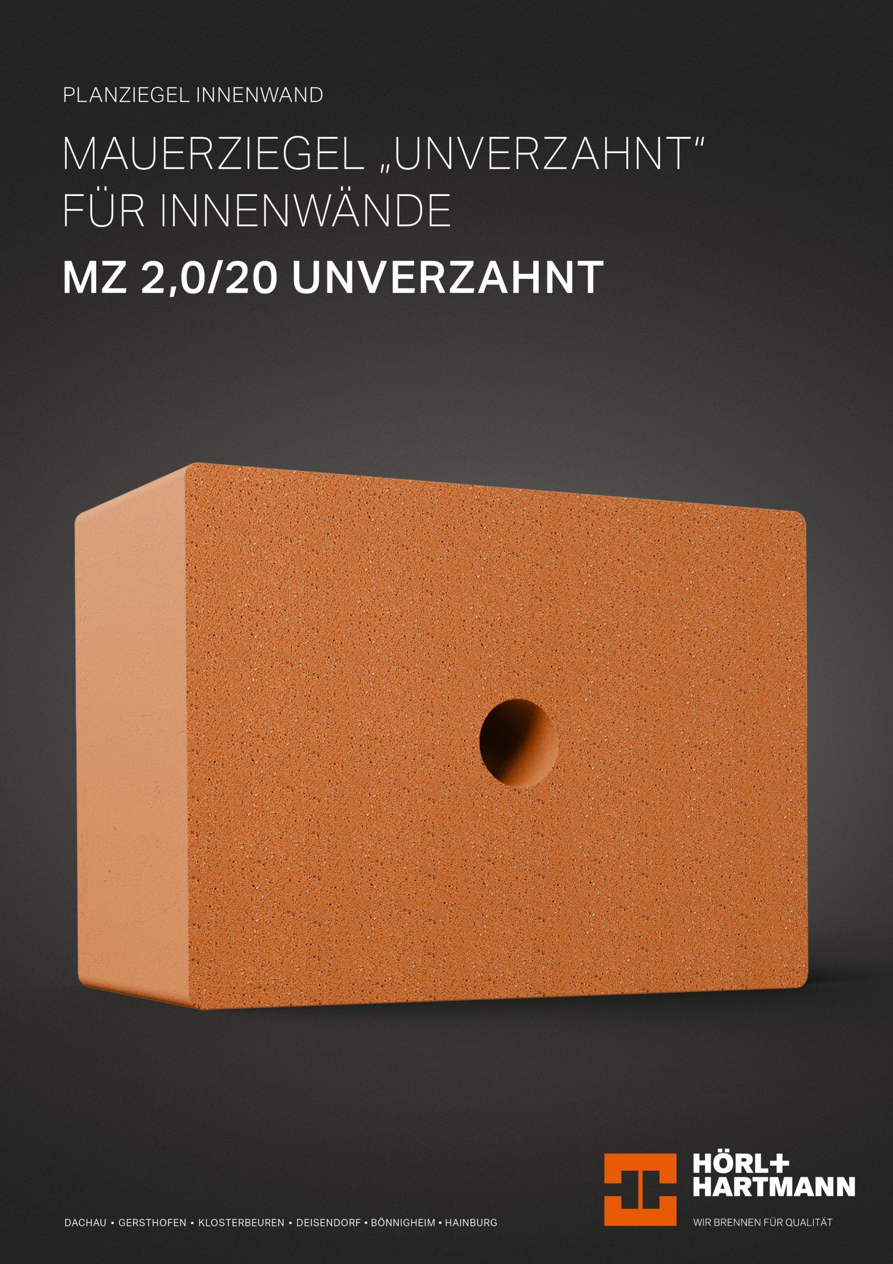 Datenblatt Mauerziegel 1,8/20