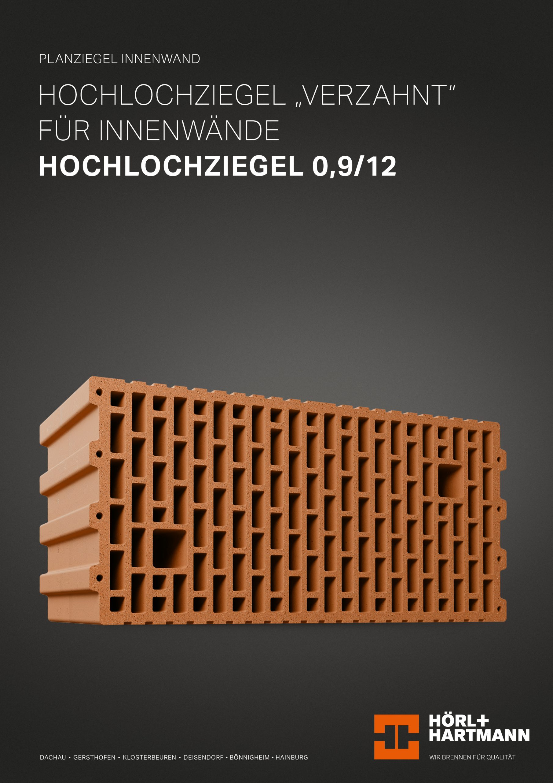 Datenblatt Hochlochziegel 0,9/12