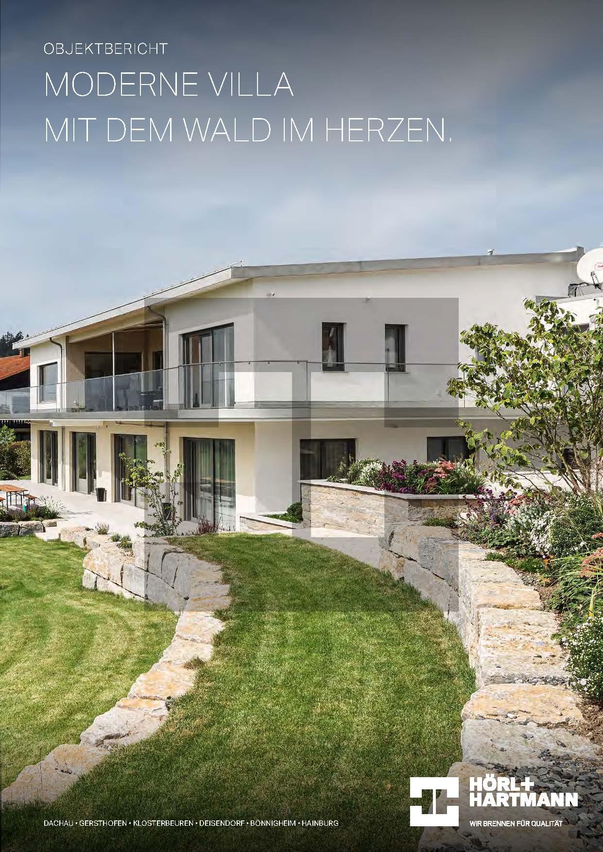 Hörl+Hartmann Objektbericht Moderne Villa in Kempten